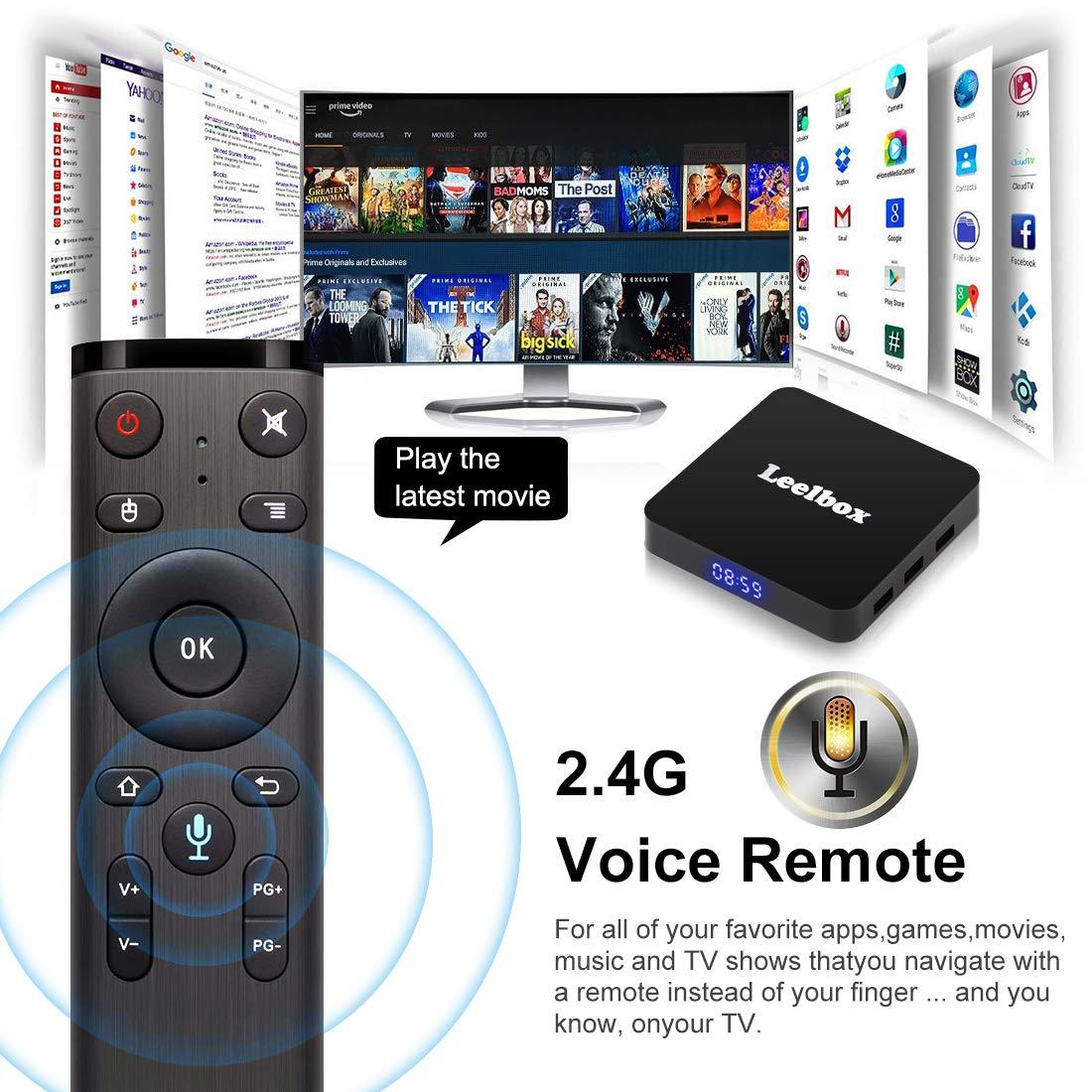tv box android 8.1 4gb 64 gb telecomando vocale  Leelbox Q4 Android 8.1 TV BOX con telecomando vocale | TecnoGadget ...