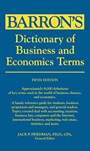 Barron's Dictionary of Business and Economy Terms