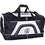Brubaker 'Big Base' XXL Sporttasche 90 L oder 'Medium Base' 52 L mit großem Nassfach als Bodenfach + Schuhfach