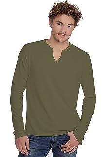 b9ef3bdc4bdf Rendez Vous Paris T-shirt col V boutonné manches longues en modal PAUL