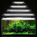 GreenSun Aquarium LED Beleuchtung Leuchte Lampe 27 LEDs 5050SMD 48CM Lighting für Fisch Tank EU Stecker weißlicht Wasserdicht
