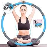 DUTISON Hoelahoep Fitness Volwassenen Sports - Professionele Fitnessontwerp Afneembaar 8 Secties voor Kinderen Training Gewic