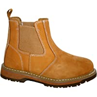 MENS WORK BOOTS, MENS SAFETY BOOTS, GR20 TWIN GUSSET DEALER BOOT BY GROUNDWORK
