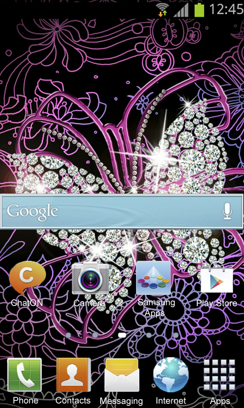 Diamond Butterfly Wallpaper Amazon Co Uk Appstore For Android