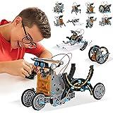 ACTRINIC STEM leksaker solenergi robotsats 12-i-1 pedagogiska satser leksaker | lärande vetenskap byggleksaker drivna av sola