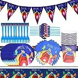 Cumpleaños Guerra de among us reutilizable among us Accesorios de Decoración para Fiesta 10 Invitados