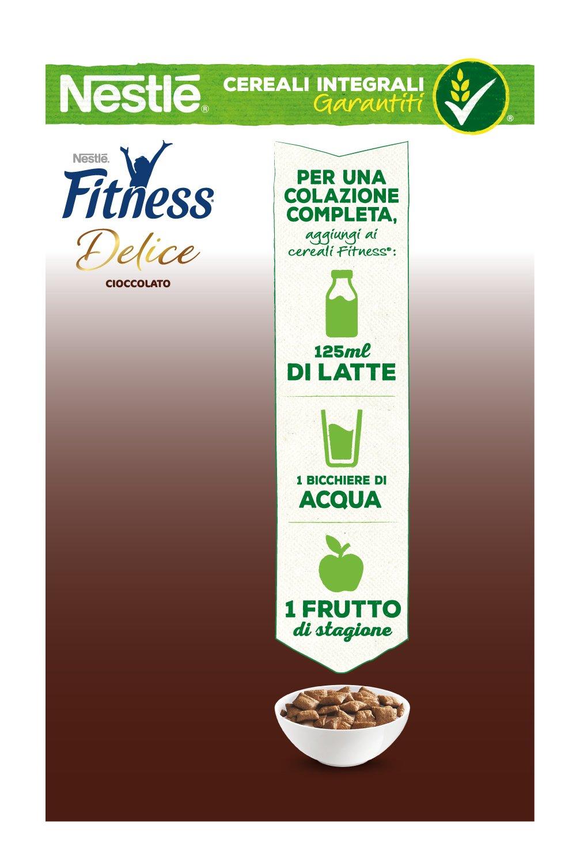 Fitness Delice Cioccolato Cereali Croccanti con Cuore Morbido al Cioccolato, 350 g 2 spesavip