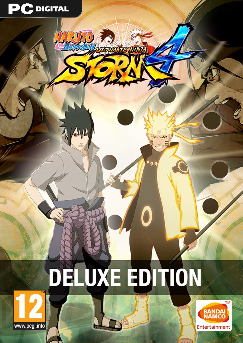 Naruto Shippuden: Ultimate Ninja Storm 4 - Deluxe Edition pc dvd-ის სურათის შედეგი