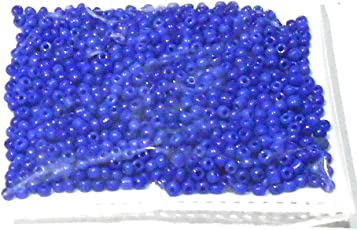 Goelx Seed Beads Multicolor/Choose Color Glass Beads For Jewellery Making,Craftworks,Diy Projects