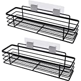 Amazon Brand - Eono Bathroom Shelf No Drilling Shower Shelf Hanging Adhesive Shower Caddy for Bathroom Organiser NO Drill 304
