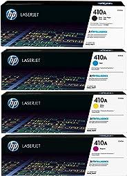 HP 410A Toner Set - Black, Cyan, Magenta and Yellow