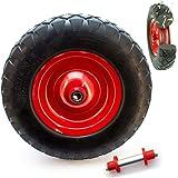 Kruiwagenwiel massief rubber - 4.80 4.00-8 massief rubberen banden voor de kruiwagen universeel inzetbare kruiwagenbanden met