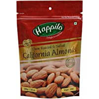 HappiloPremium Californian Roasted and Salted Almonds, 200g