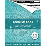 Accounts Book Self Employed: The Sole Trader Accounting Ledger | Bookkeeping and Finance Management | Income and…
