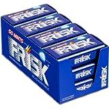 Frisk Peppermint Caramelle al Gusto Menta, Senza Zucchero e Senza Glutine, Confezione da 12 Astucci in Metallo