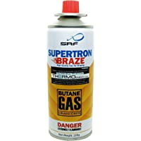 THERMO - Butane/LPG Gas Canister Can Fit Directly into Flame Torch Guns & also for Refilling Torch Guns, Cigarette…