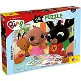 Liscianigiochi- Bing Divertiamoci Insieme Gicoco per Bambini-Puzzle, 24 Pezzi, Multicolore, 77984
