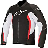 Alpinestars Viper V2 Air Jacket :Black White Bright Red: 2XL