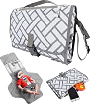 Portable Diaper Changing Pad Diaper Bag with Waterproof Diaper Foldable into A Clutch for Easy Travel with Your Baby