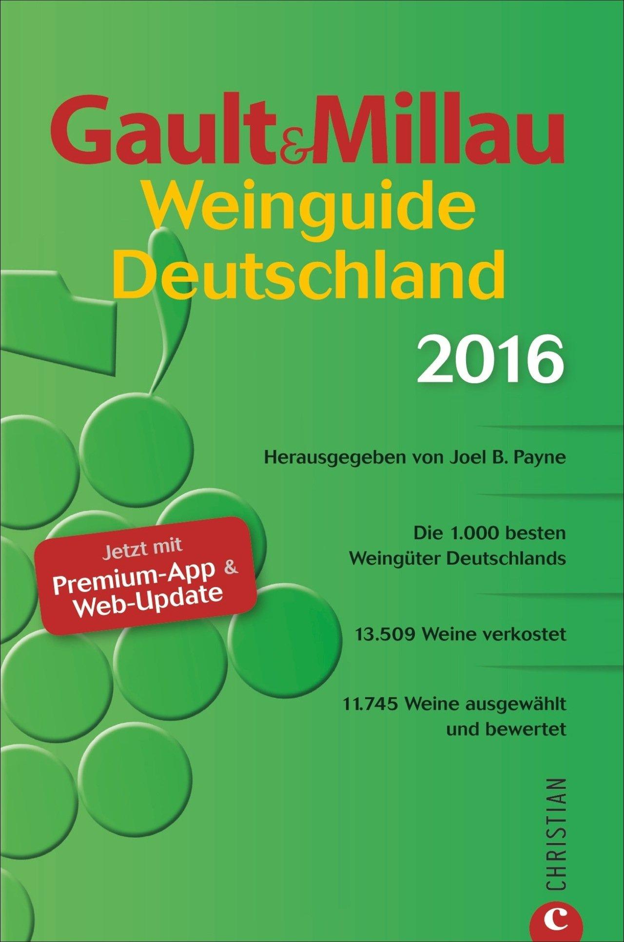 Buch: Gault&Millau WeinGuide Deutschland 2016