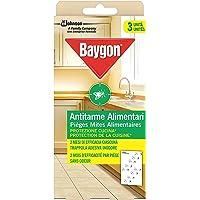 Baygon Antitarme Alimentari, Confezione da 3