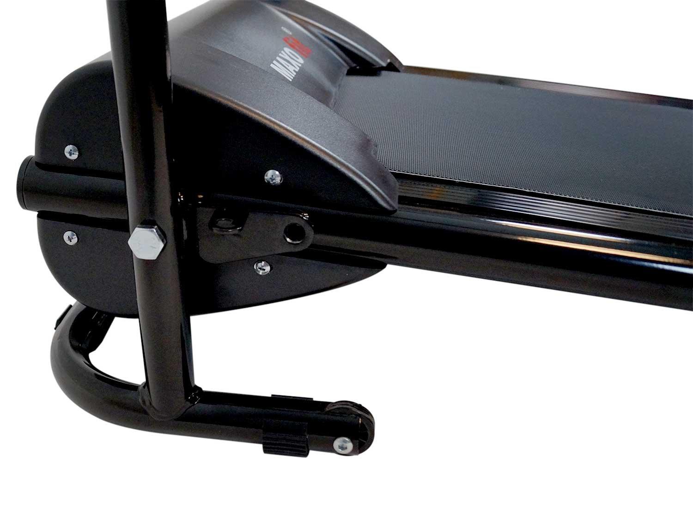 MAXOfit® Tapis roulant Elettrico Professionale Deluxe MF-16 per Riabilitazione e camminiate rilassanti con maniglioni e… 3 spesavip