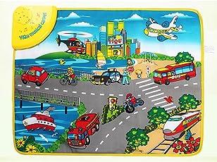 Generic Kids Children Music Game Carpet Baby Playmat -Circulation Map