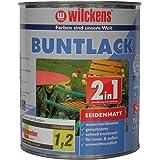 Wilckens 2-in-1 gekleurde lak zijdemat, RAL 9010 zuiver wit, 750 ml 12491000050