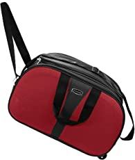 Karp Red Cabin Luggage Bag with Wheels