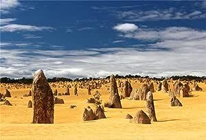 Buenn 10x8ft Pinnacle Wüstenlandschaft Hintergrund Kamera