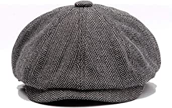 Markcur Coppola Cappello Irish Gatsby Newsboy Hat Flat Cap 55-58CM