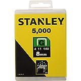 Stanley Type G (8 mm, van platte draad, hersluitbare verpakking, 5000 stuks, roestbestendig) 1-TRA705-5T