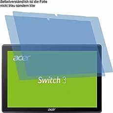 2x ANTIREFLEX matt Schutzfolie für Acer Switch 3 SW312-31 Displayschutzfolie Bildschirmschutzfolie Schutzhülle Displayschutz Displayfolie Folie