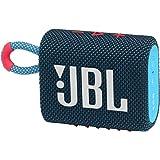 JBL GO3 Portable Bluetooth Speaker BlueCoral
