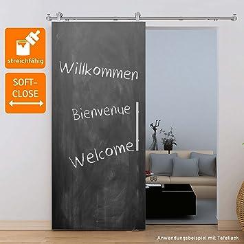 Hervorragend Holzschiebetür Schiebetür Zimmertür Tür 900x2065 mm MDF grundiert  SN87