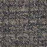 Teppichboden Auslegware | Sisal-Optik Schlinge | 400 und 500 cm Breite | grau braun | Meterware, verschiedene Größen | Größe: Muster