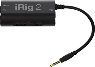 IK Multimedia iRig 2 Guitar Interface Adaptor For All Devices