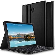 ELTD Samsung Galaxy Tab S4 T830/T835 Tastatur Hülle [Deutsches QWERTZ-Layout],Standfunktion Hülle mit Abnehmbar Kabellose Tastatur für Samsung Galaxy Tab S4 T830/T835 10.5 Zoll 2018 Tablet PC [Schwarz]