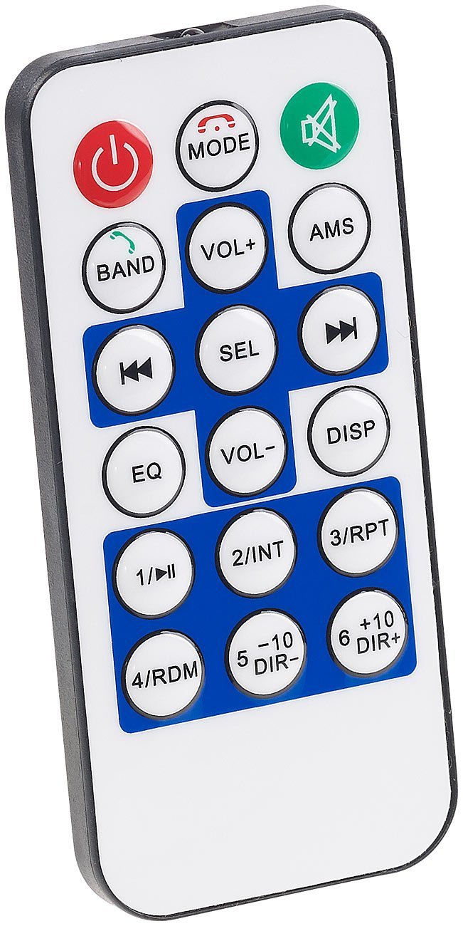 PEARL-Autoradio-1DIN-MP3-Autoradio-mit-Bluetooth-Freisprech-Funktion-USB-SD-4X-45-Watt-Radio-Auto