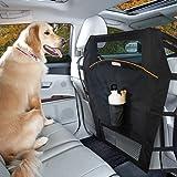 Kurgo Baksäte hund bilbarriär för bilar och stadsjeepar, nätöppning, enkel installation