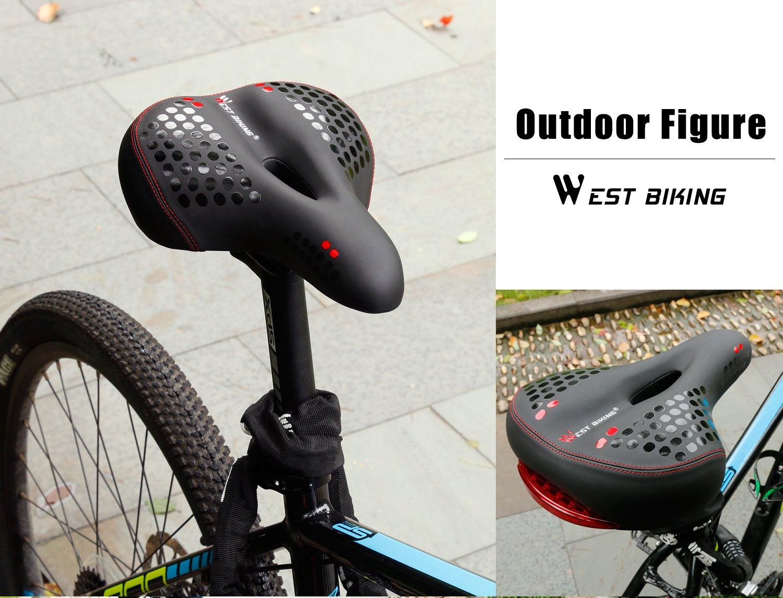 b2d276a3853 Comfortable Gel Bike Seat