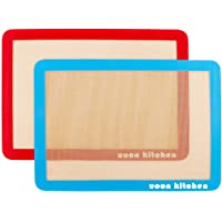 UOON Silicone Baking Mat Sheet Set/Tray Liner Sheet Set (2) Half Sheets 16.5
