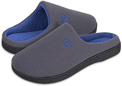 Pantofole Uomo Unisex Donna Antiscivolo Scarpe Inverno Peluche Morbido Ciabatte in Memory Foam