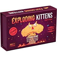 Exploding Kittens EKG-PP-1 Party Pack Kartenspiel - Family-Friendly Party Games - Card Games for Adults, Teens & Kids…