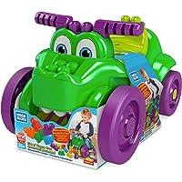 Mega Bloks First Builders porteur et ramasseur Croc Blocs, briques et jeu de construction, 26 pièces, jouet pour bébé et…