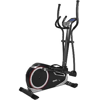SportPlus SP-ET-9600-iE Bicicleta Elíptica con Aplicación para Smartphone, Google Street View, Potenciómetro, Masa de Volante de Inercia de Aprox.