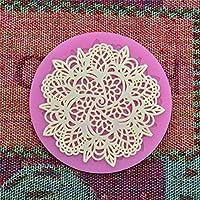 Hosaire Molde de Silicona de Pastel Molde de Fondant DIY Decoración de Repostería Pastel Cookie (Dibujando Forma de la flor)
