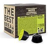 Note d'Espresso - Cápsulas de Té Negro con Limón, Lima y Cúrcuma - Compatibles con Cafeteras NESCAFE'* DOLCE GUSTO* - 48 caps
