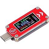Innovateking-EU Typ-C-testare USB-C testare multimeter voltmeter amperemätare 0-4A 3,7-30V spänning ström effektmätare 0,94 t