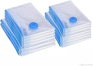 Cartshopper New Vacuum Bag Transparent Border Foldable Extra Large Compressed Organizer Storage Bag Saving Space Seal Bags